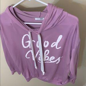Good vibes sweat shirt
